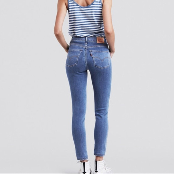 178e7aa95f50 NWT Levi s 720 High Rise Super Skinny Jeans